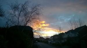 sunrise February 2015